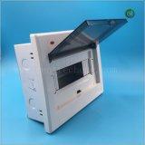 Caja de distribución de la luz de metal con 4-6formas Cuadro eléctrico caja de interruptores de caja de bornes