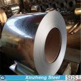 Bobine en acier galvanisée plongée chaude en acier plein en métal G550 dur