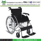 Люкс облегченная складывая алюминиевая кресло-коляска