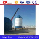 almacenaje del silo de cemento del tornillo del pedazo de la hoja 150t en venta
