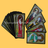 Карточки карточек говорить удачи Tarot играя карточек нестандартной конструкции играя