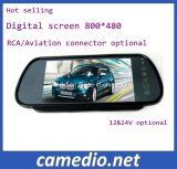 Ecran LCD TFT 7 voiture Vue arrière du miroir de rétroviseur miroir de sauvegarde d'affichage du moniteur