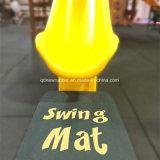 Couvre-tapis et garnitures en caoutchouc d'oscillation de cour de jeu colorée et durable d'enfants