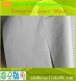 Papel de la etiqueta de plástico del cad papel de trazador de gráficos de 60 G/M para el uso de la ropa