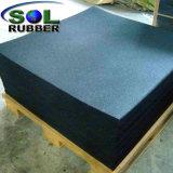 1m X 1m Wear-Resistant Ginásio piso de borracha EPDM reciclado telhas