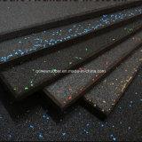 Azulejos de suelo de goma del suelo de las esteras de la gimnasia amortiguador de Crossfit