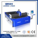 Machine de découpage de laser de fibre d'acier inoxydable sans couverture