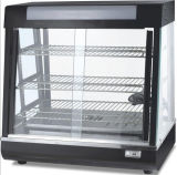 Electric Warming Tray Showcase Food Warmer Warming Cabinet