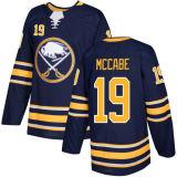 Barato 2018 Nova Marca Ad Mens Sade Juventude Buffalo Sabres 40 Robin Lehner 35 Linus Ullmark 19 Jaime Mccabe Jonas Johansson Blue Custom Hockey camisolas