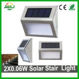 L'extérieur de l'Escalier de lumière solaire LED 2x0.06W Solare Feu de coin de LED