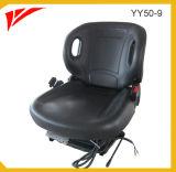Новое кожаное сиденье с вилочным захватом с подвеской