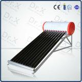 Del compacto calentador de agua solar de la presión no con el alto tubo de vacío de la blanco tres