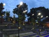 Iluminação solar psta solar superior Syatem do jardim com o sensor de movimento de PIR