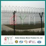 Загородка тюрьмы Protction загородки сетки службы безопасности аэропорта цены по прейскуранту завода-изготовителя высокая