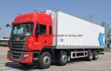 JAC 8X4頑丈な冷却装置トラックは30トン貨物自動車のトラックを冷やした