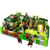 Campo de jogos interno plástico dos miúdos com padrão do CE