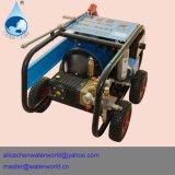De Wasmachine van de druk met de Slang van de Input voor het Schoonmaken van de Boot