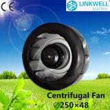 Ventilador centrífugo de ventilação com ventilador de ar de baixa intensidade