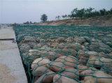 Стена сетки PVC Gabion сохраняя