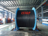 6/10kv Yxc7V-R (TS) XLPEの絶縁体PVC外装の銅ケーブル、N2xsy VDE0276ケーブル