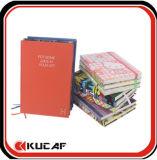 Het gepersonaliseerde Geschikt om gedrukt te worden Notitieboekje van het Programma van de Druk van het Notitieboekje