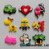 3D all'ingrosso Cute Souvenir Fridge Magnet per Memo Holder
