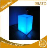 Acrílico transparente Luz LED Lfoor Cosmeitc Expositor