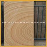 Ladrilhos de madeira amarelos baratos / Lychee amarrados para piso, telhas de parede