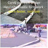 Garten-Plastikverschalung-Arbeit schneller, mehrfachverwendbare Bürgersteig-Verschalung