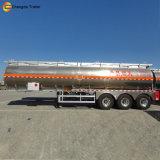 Remorque en aluminium de camion-citerne de 3 essieux