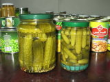 De komkommer blikte Ingelegde Komkommer met Super Kwaliteit in