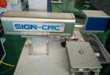 Zeichen CNC-Faser-Laser-Markierung