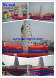 商業PVCスポーツのゲームの子供の大人の膨脹可能な上昇の壁(MIC-087)