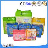 使い捨て可能な赤ん坊のおむつのための赤ん坊の商品