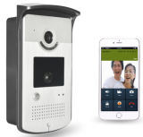 La porte vidéo WiFi Téléphone Support intercom sans fil de Bell WiFi Android Ios 3G pour iPad Smart Phone Tablet