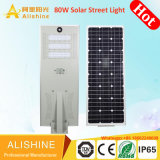 6m de Calle luz LED Solar todo en uno con iluminación LED 30W
