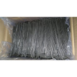 Spine di figura galvanizzate tappeto erboso sintetico del filo di acciaio U