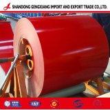 Haute qualité/prix bas de la bobine en acier recouvert de couleur/PPGI pour la construction