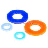 Isolamento de alta qualidade junta plana comum Semi transparente o anel de borracha de vedação de silicone