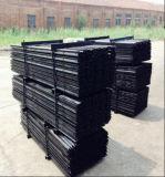 1800mm 호주 별 말뚝 또는 까만 가연 광물 강철 담 포스트