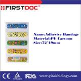 هيبوالرجينيك الغراء لاصق ضمادات مع CE، ISO ادارة الاغذية والعقاقير Apporved