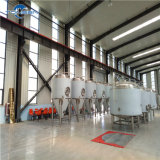 Máquina da fabricação da cerveja do ofício no sistema de fermentação