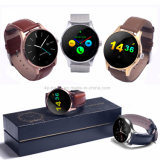 Téléphone intelligent de montre de Bluetooth de puce de Mtk2502c pour l'androïde et l'IOS K88h