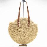 Handgemachter gesponnener Sommer-Stroh-Beutel für Dame Handbag