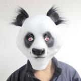 Heiße lustige Hauptschablonen-Tierkostüm-Panda-Theater-Stütze-Neuheit-Latex-Gummi-Bucht