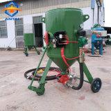 Máquina de jacto de limpeza a seco portátil
