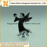 Houders van de Kaars van de Vorm van de engel de Ceramische voor de Decoratie van Kerstmis