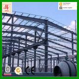 Almacén industrial prefabricado de la fábrica del edificio de la estructura de acero del bajo costo