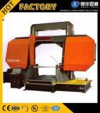 Máquina de estaca redonda da tubulação do metal da máquina de Sawing da faixa 350*350