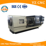 Tubulação Cqk245 que rosqueia a máquina do torno do CNC